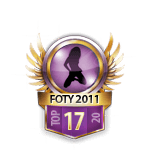 Girls FOTY 2011 17 Badge