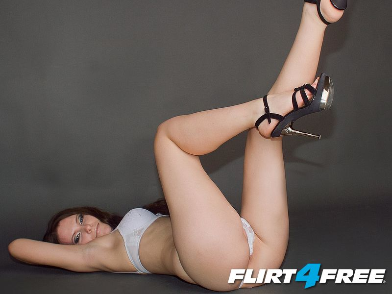 Heels in the air!