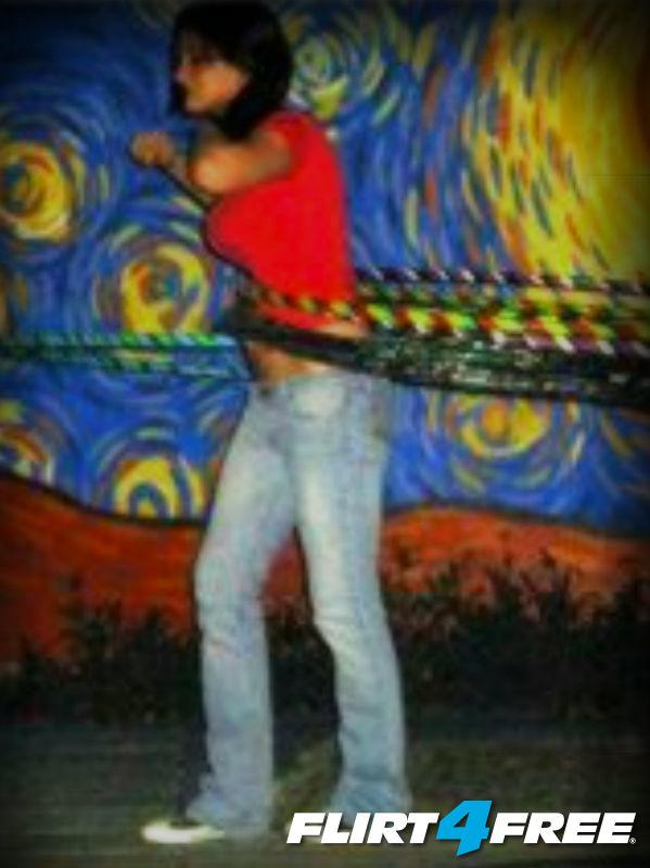 Me With Six Hula Hoops