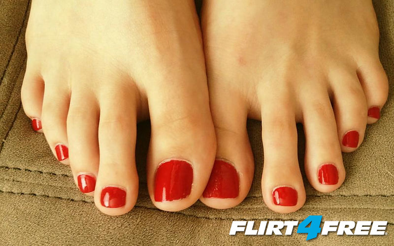 "beautiful feet photo 4x4 в""– 7882"