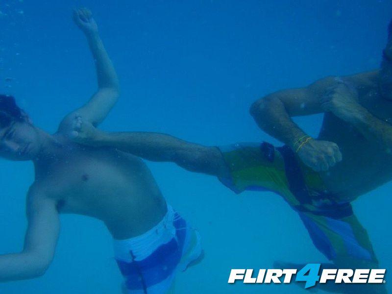 Underwater Kung-Fu!