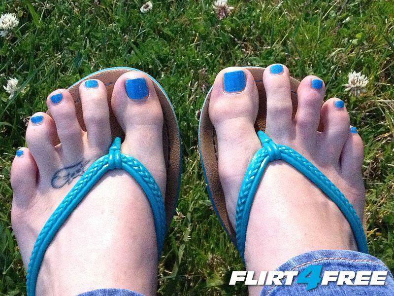 Blue Pedi!