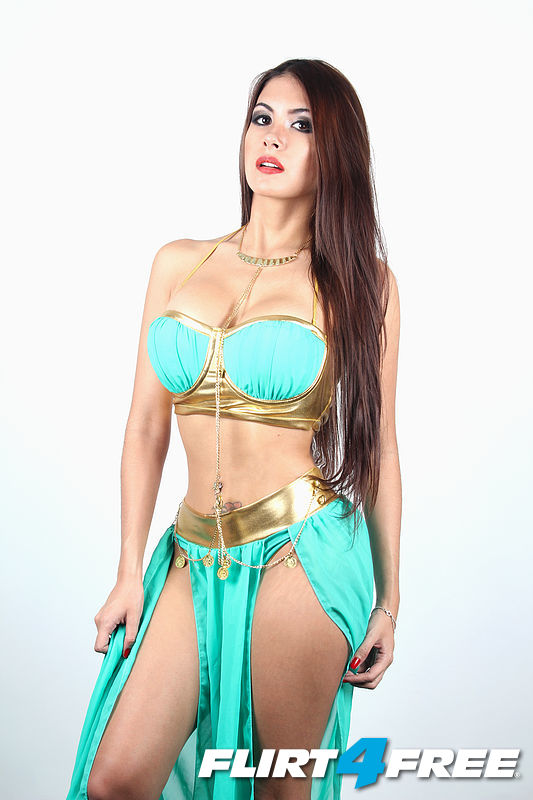 halloween belly dancer